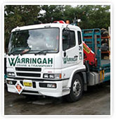 Container Trucks specialising in transport services in Sydney