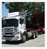 HIAB trucks used for transport services in Sydney